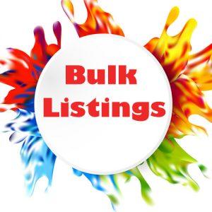 Bulk Listings
